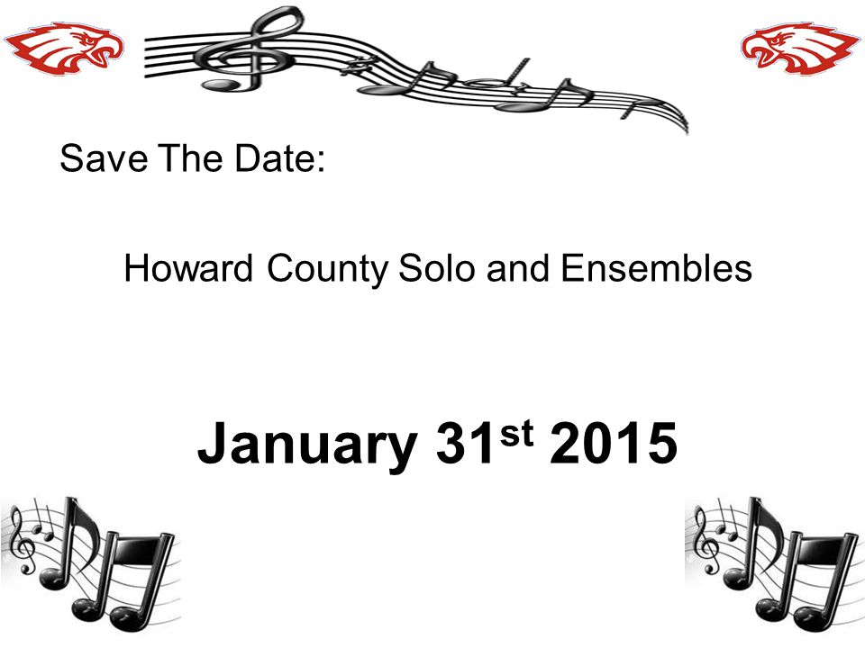 Howard County Solo and Ensembles