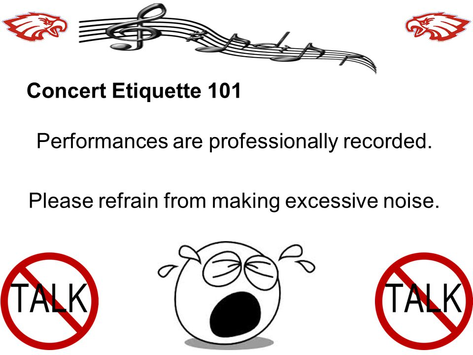 Performances are professionally recorded.