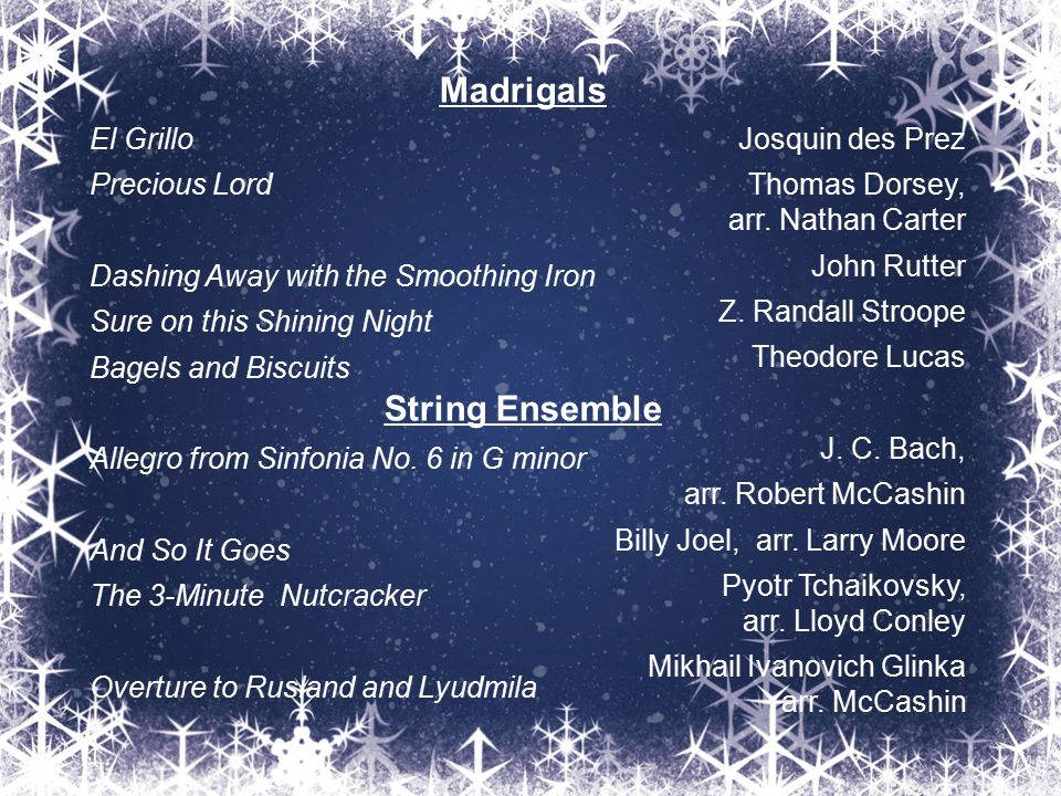 Madrigals String Ensemble