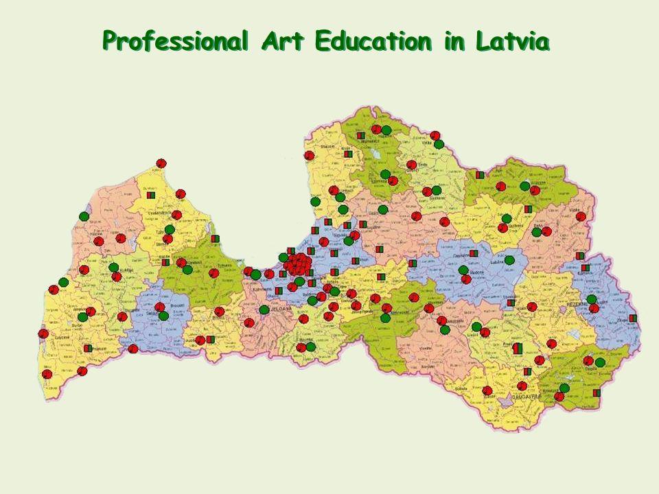Professional Art Education in Latvia