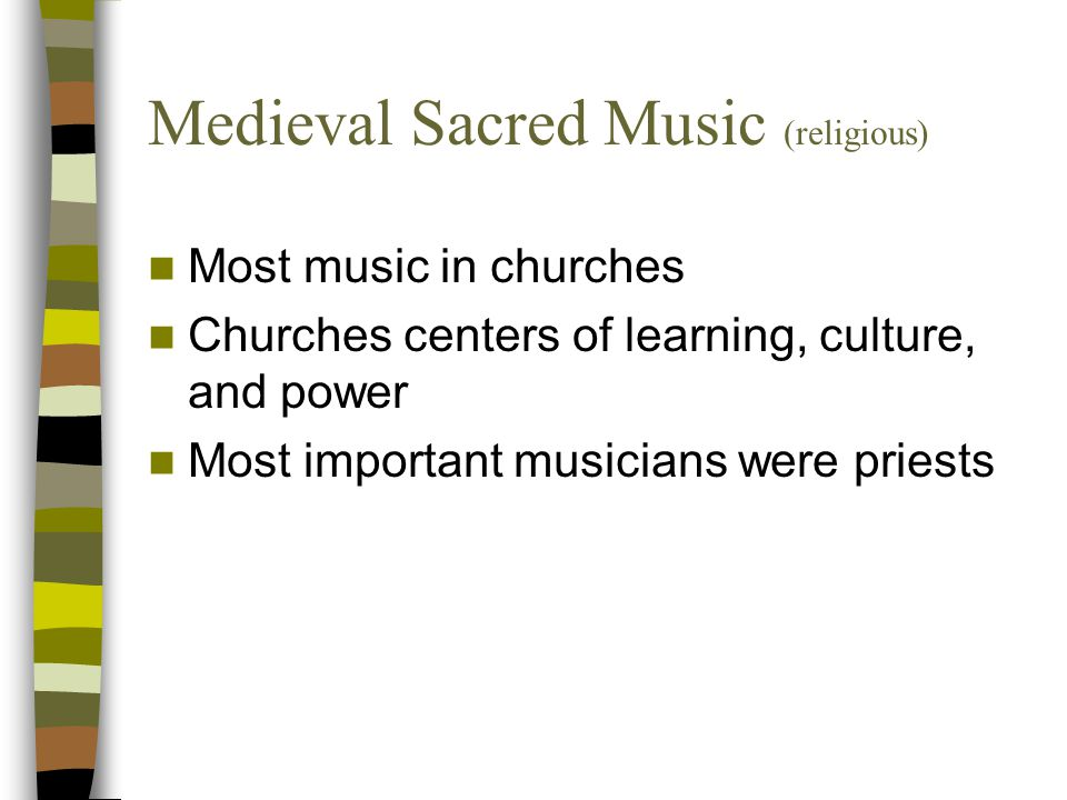 Medieval Sacred Music (religious)