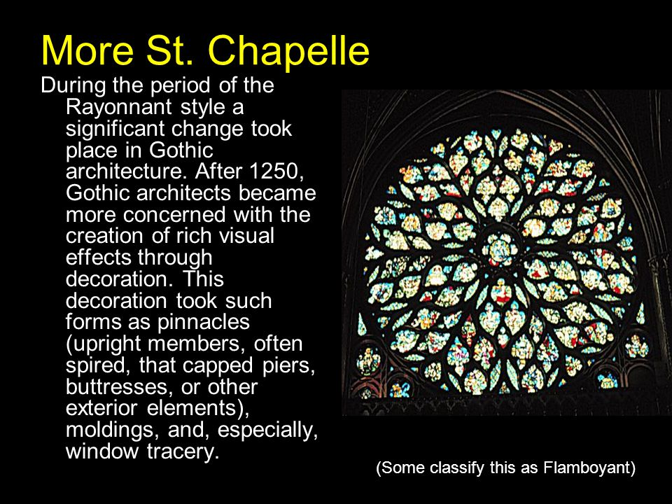 More St. Chapelle