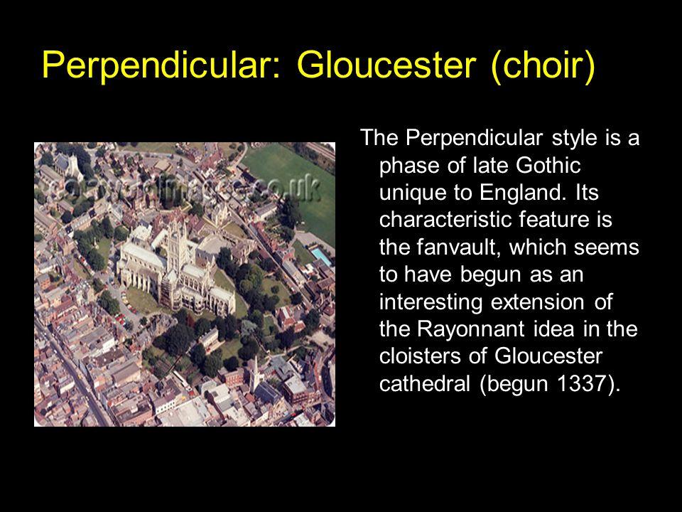 Perpendicular: Gloucester (choir)