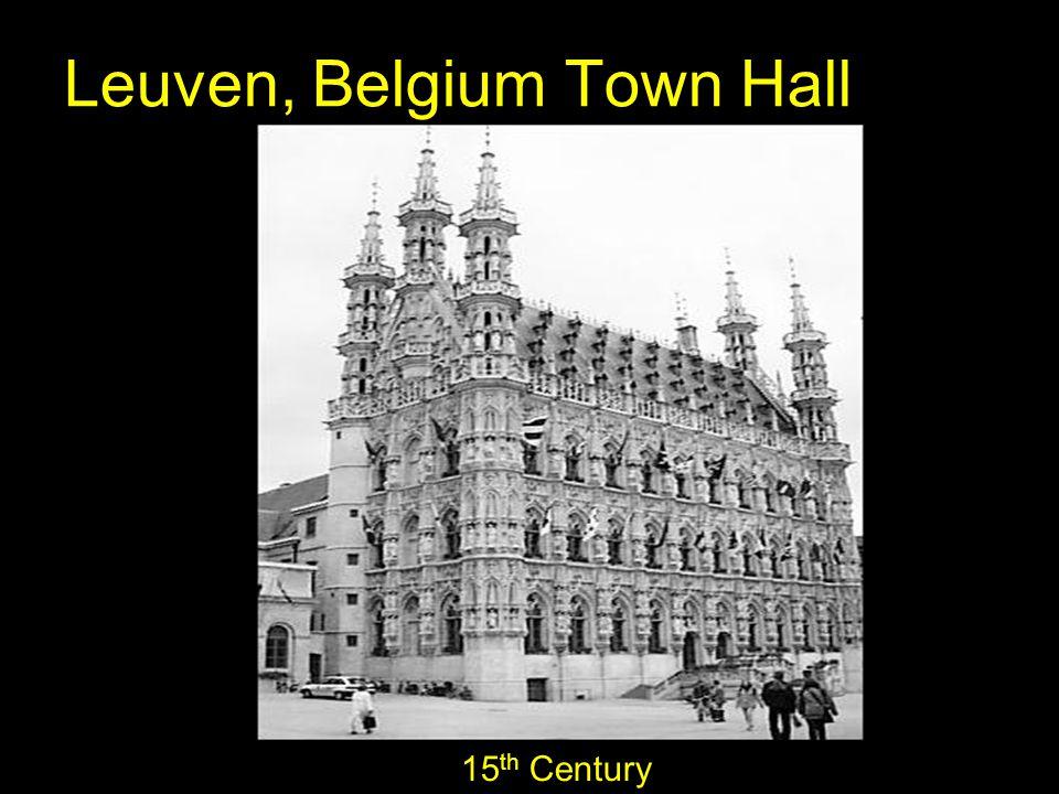 Leuven, Belgium Town Hall