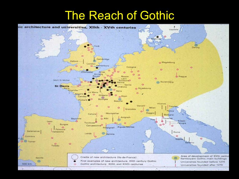 The Reach of Gothic