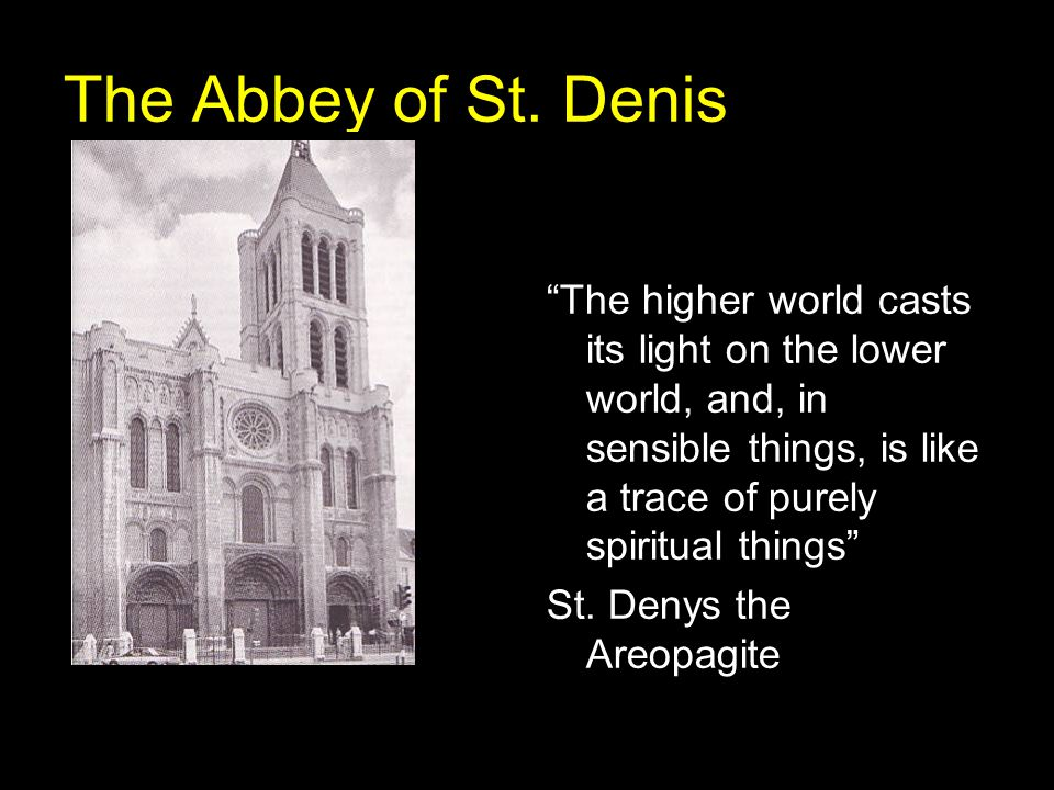 The Abbey of St. Denis