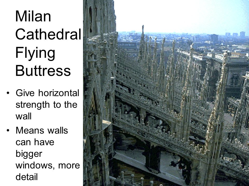 Milan Cathedral Flying Buttress
