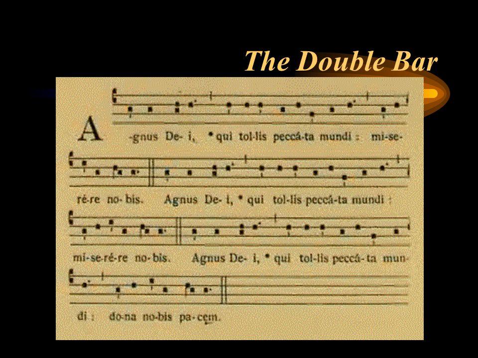 The Double Bar