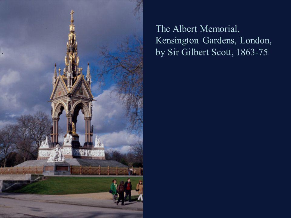 The Albert Memorial, Kensington Gardens, London, by Sir Gilbert Scott, 1863-75