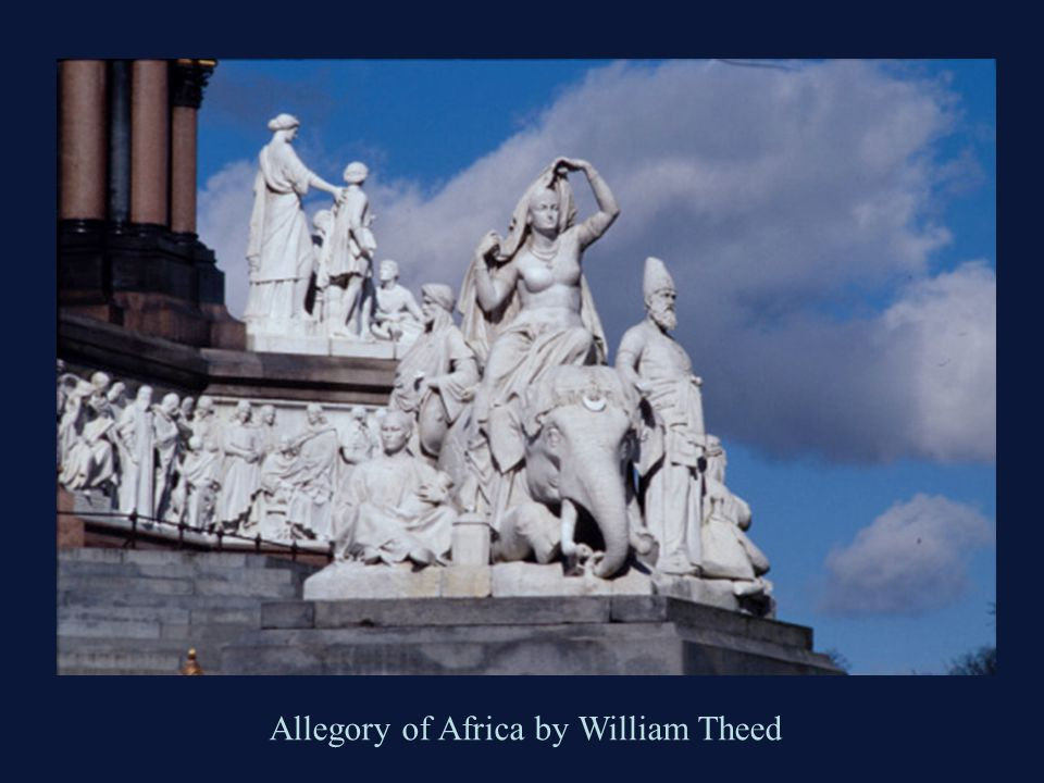 Allegory of Africa by William Theed