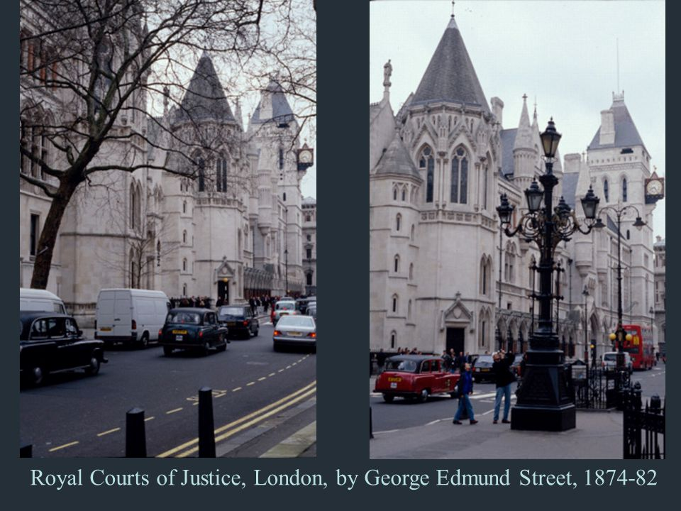 Royal Courts of Justice, London, by George Edmund Street, 1874-82