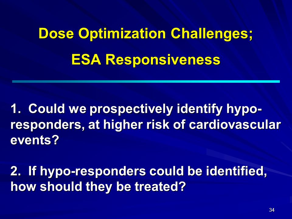 Dose Optimization Challenges;