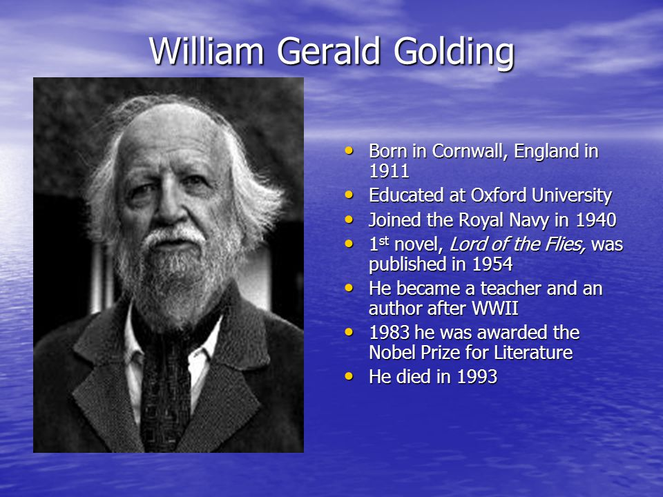 piggy the mediator in the novel lord of the flies by william golding Lord of the flies by william golding revision notes piggy's role in the novel seems to be heavily symbolic as the only boy wearing glasses he.