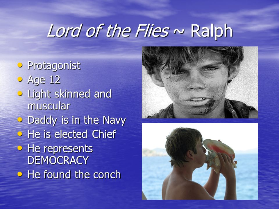 ralph lord of the flies biography Lord of the flies movie and book menu below credits biography for james aubrey (ralph in lord of the flies) (lord have.