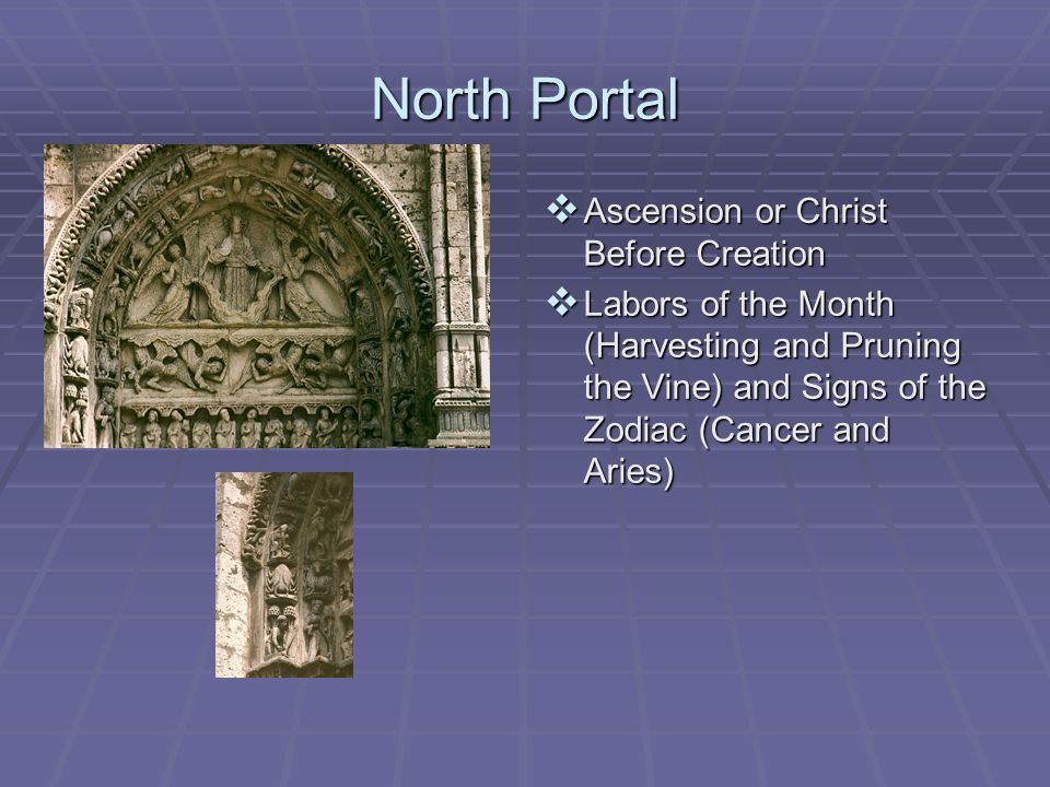 North Portal Ascension or Christ Before Creation
