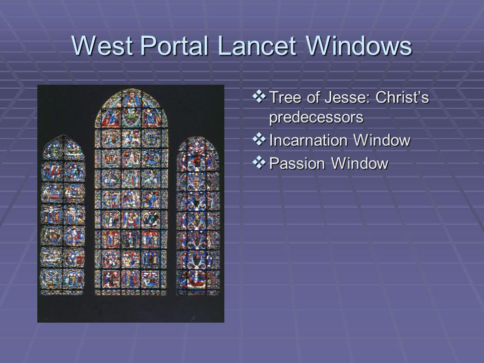 West Portal Lancet Windows