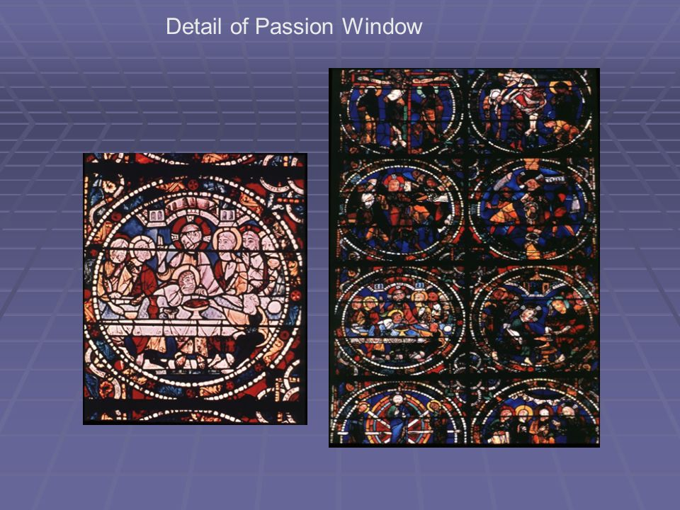 Detail of Passion Window