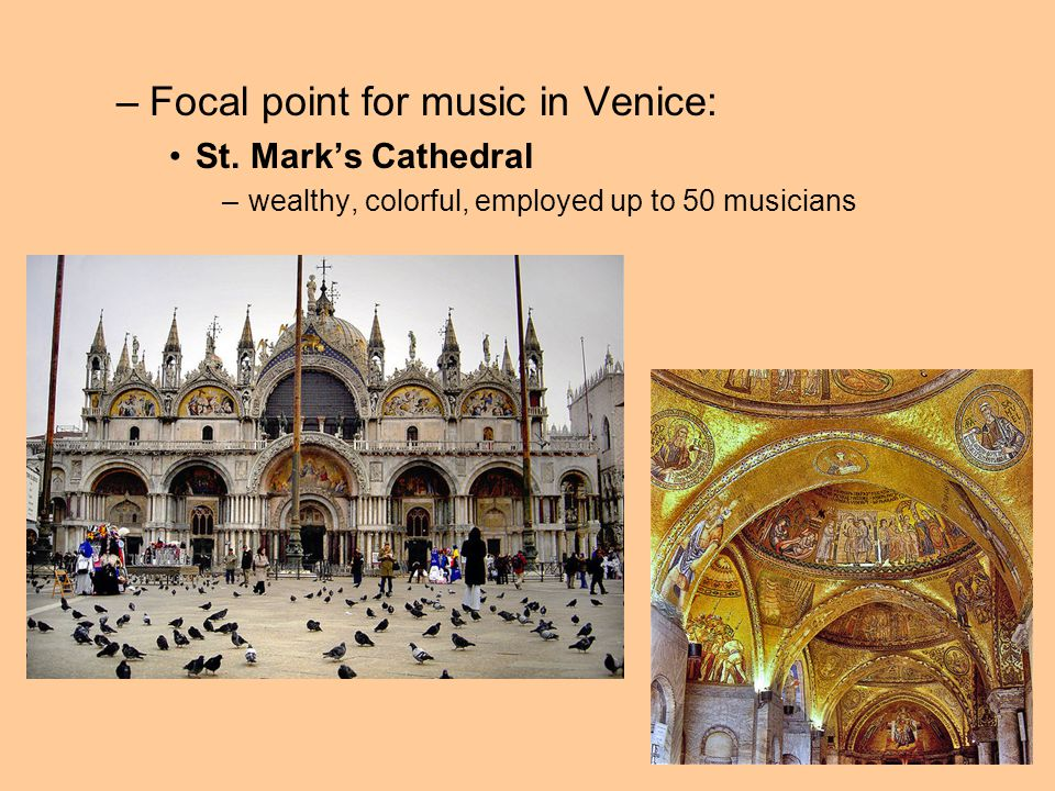 Focal point for music in Venice:
