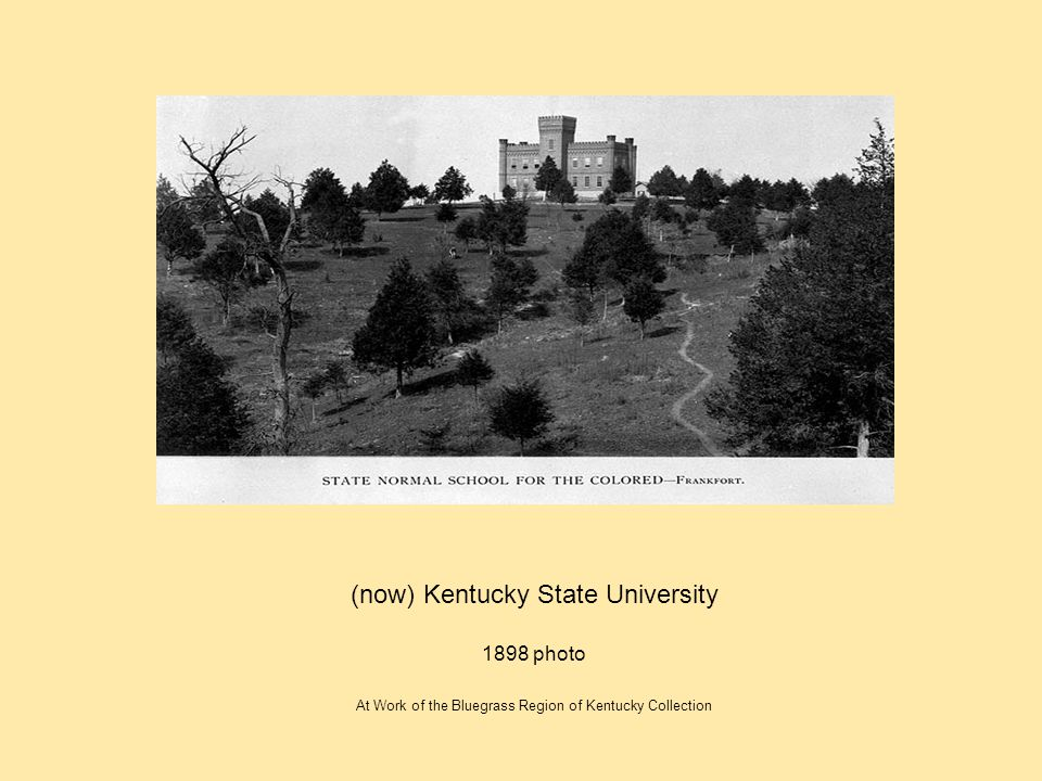(now) Kentucky State University