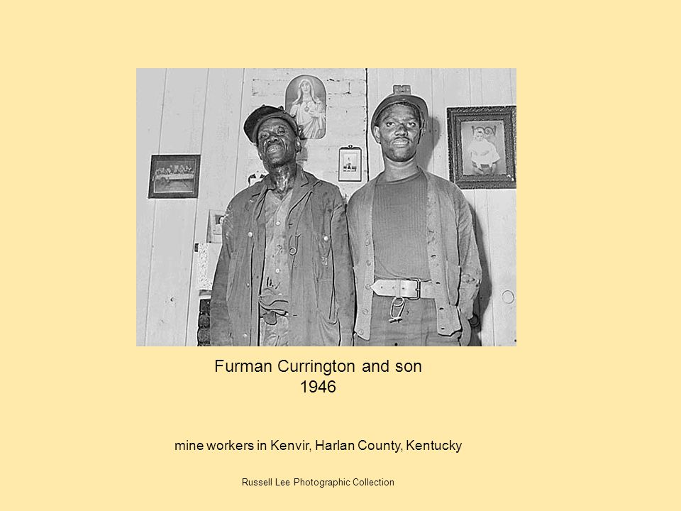 Furman Currington and son 1946