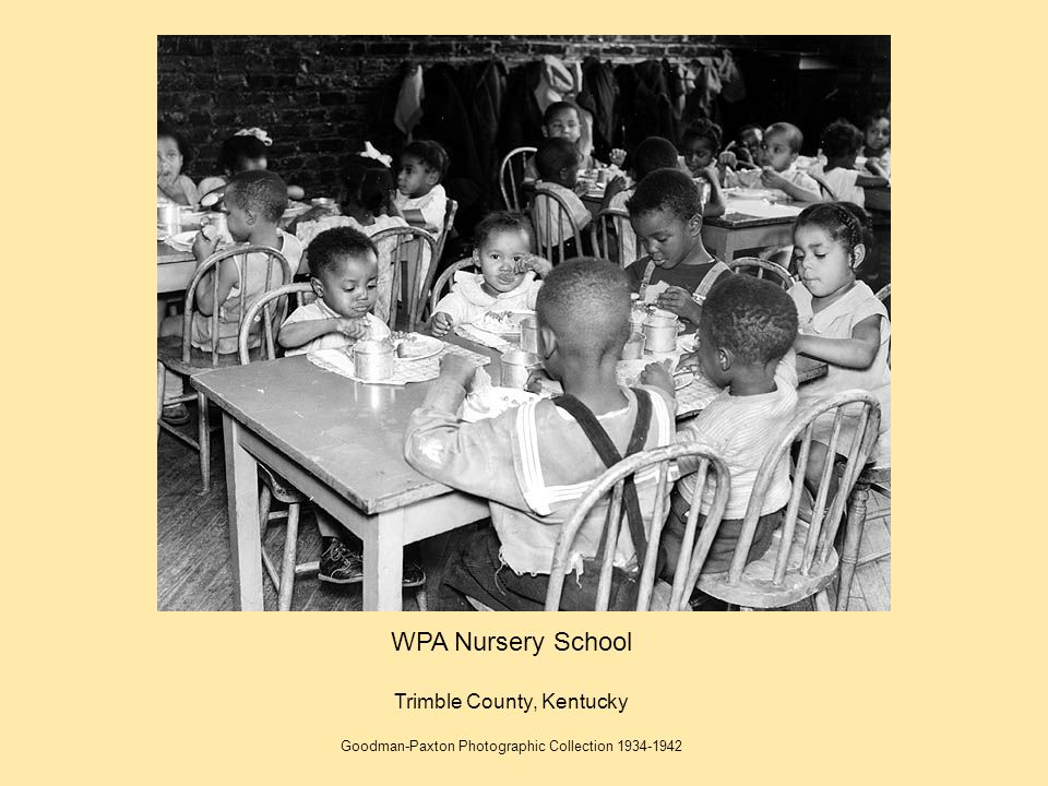WPA Nursery School Trimble County, Kentucky