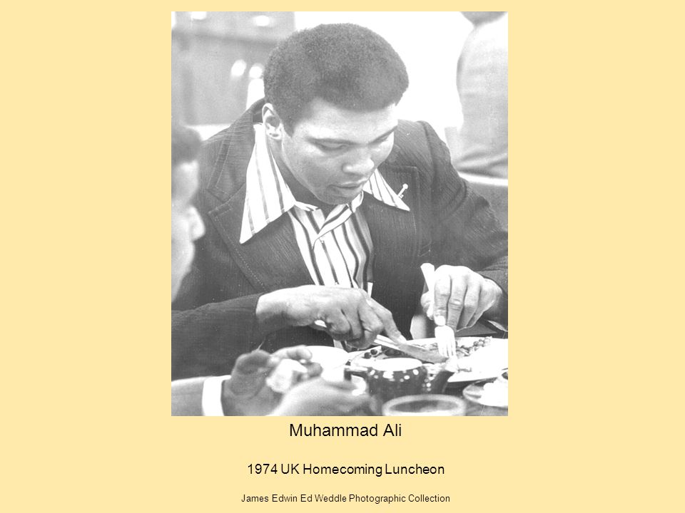 Muhammad Ali 1974 UK Homecoming Luncheon