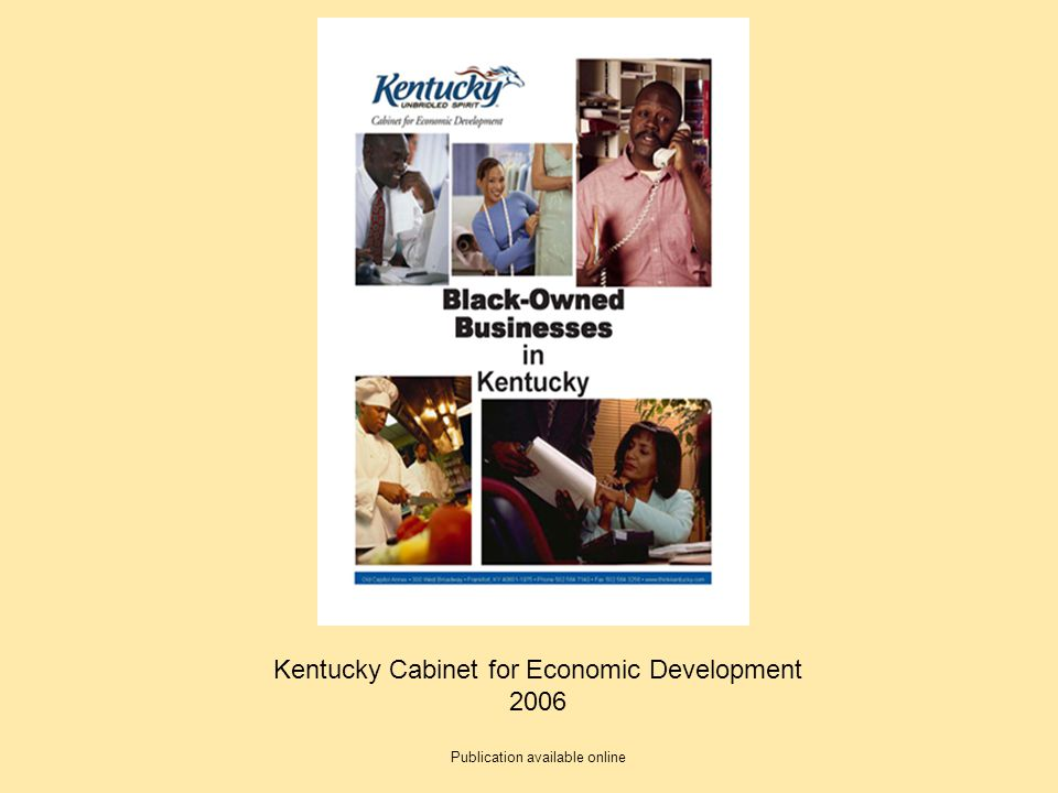 Kentucky Cabinet for Economic Development 2006