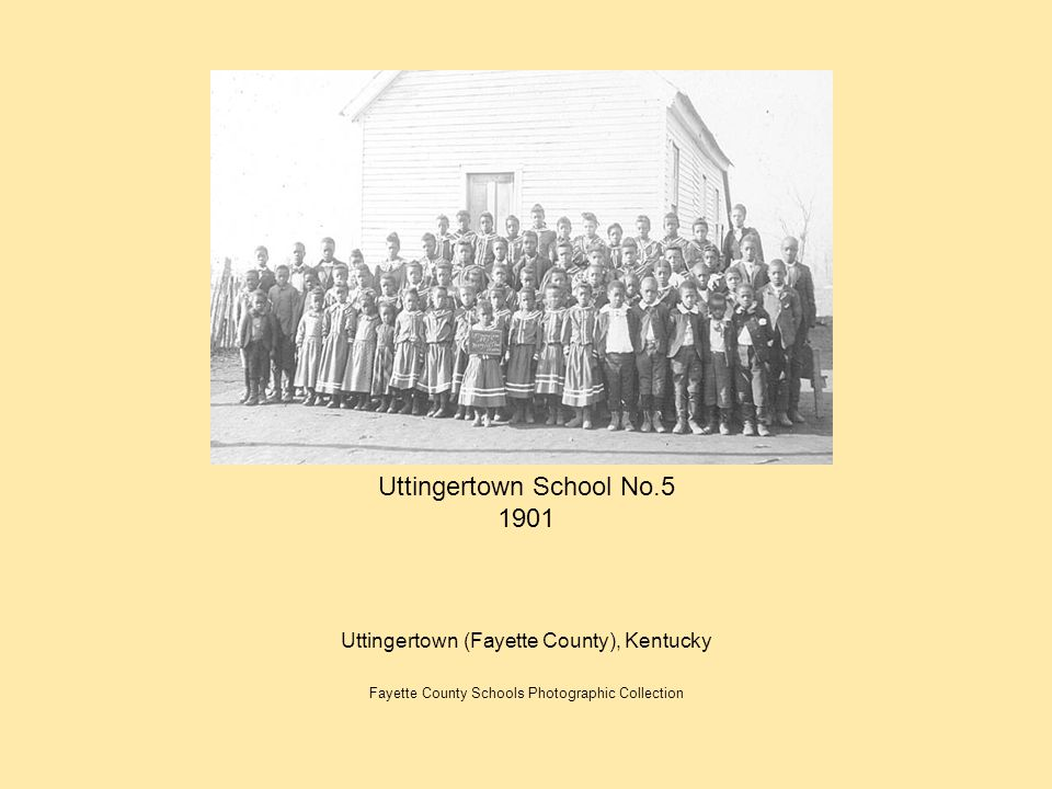 Uttingertown School No.5 1901