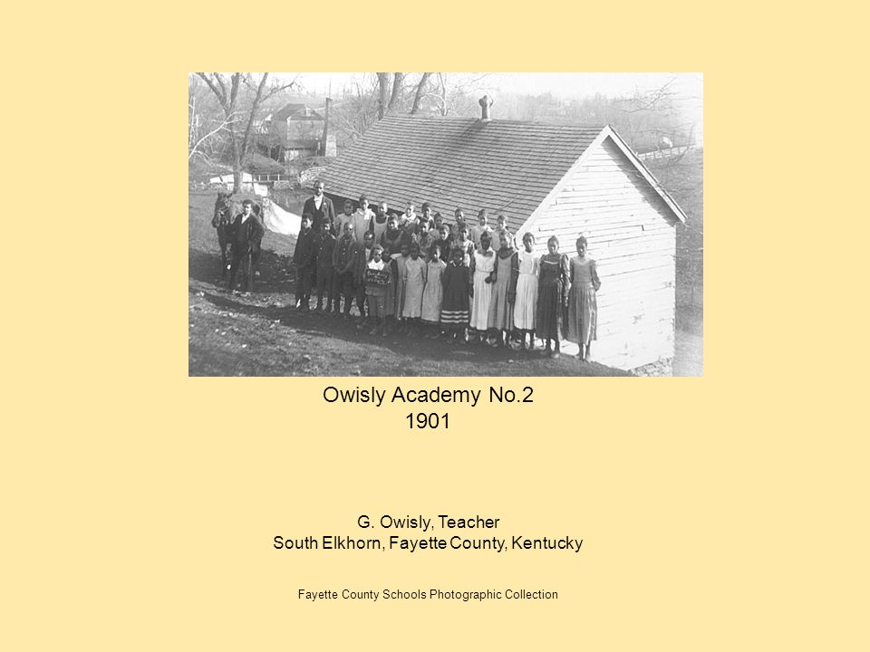 Owisly Academy No.2 1901 G. Owisly, Teacher