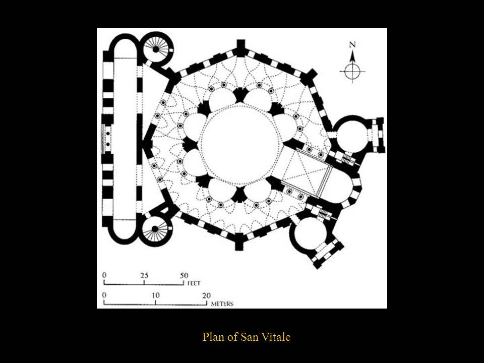 Plan of San Vitale