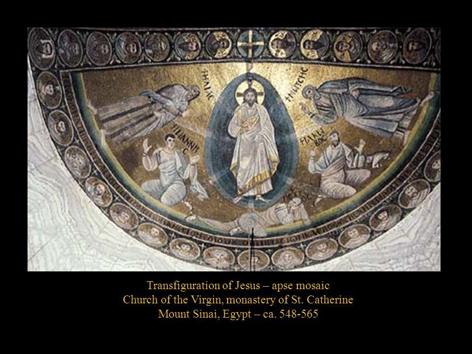 Transfiguration of Jesus – apse mosaic