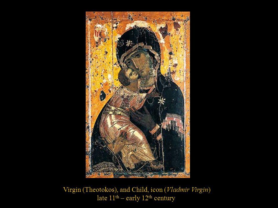 Virgin (Theotokos), and Child, icon (Vladmir Virgin)