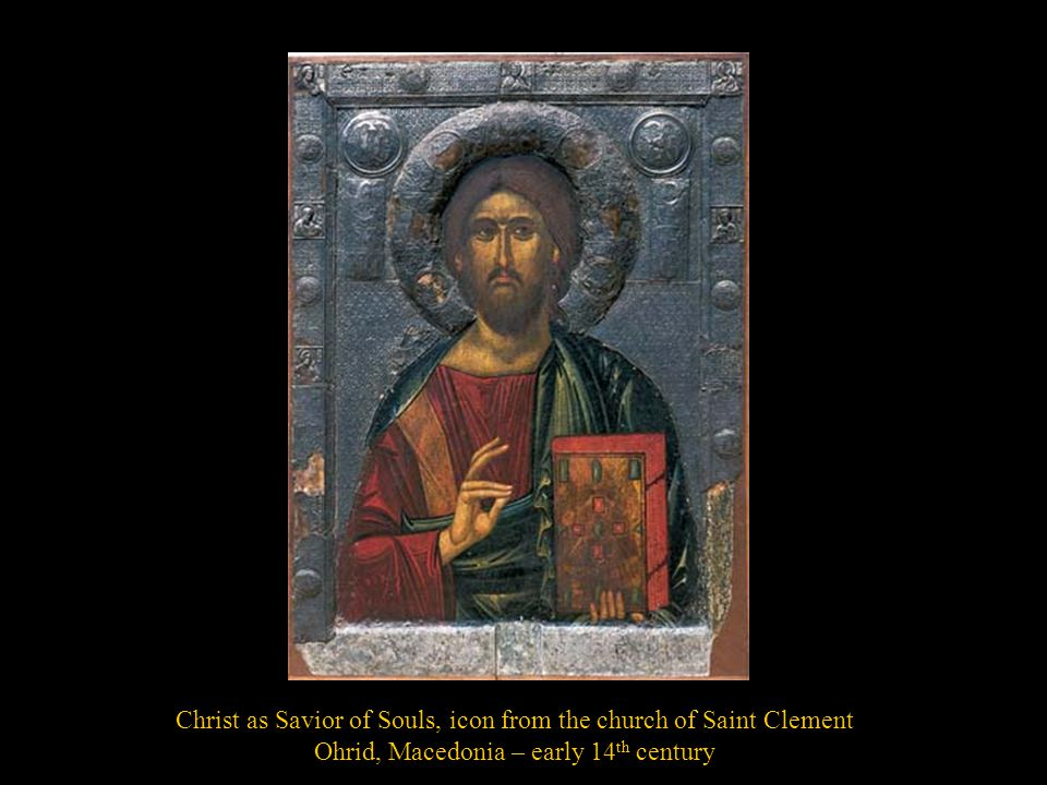 Christ as Savior of Souls, icon from the church of Saint Clement