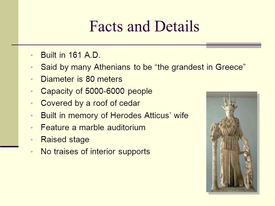 Facts and Details Built in 161 A.D.
