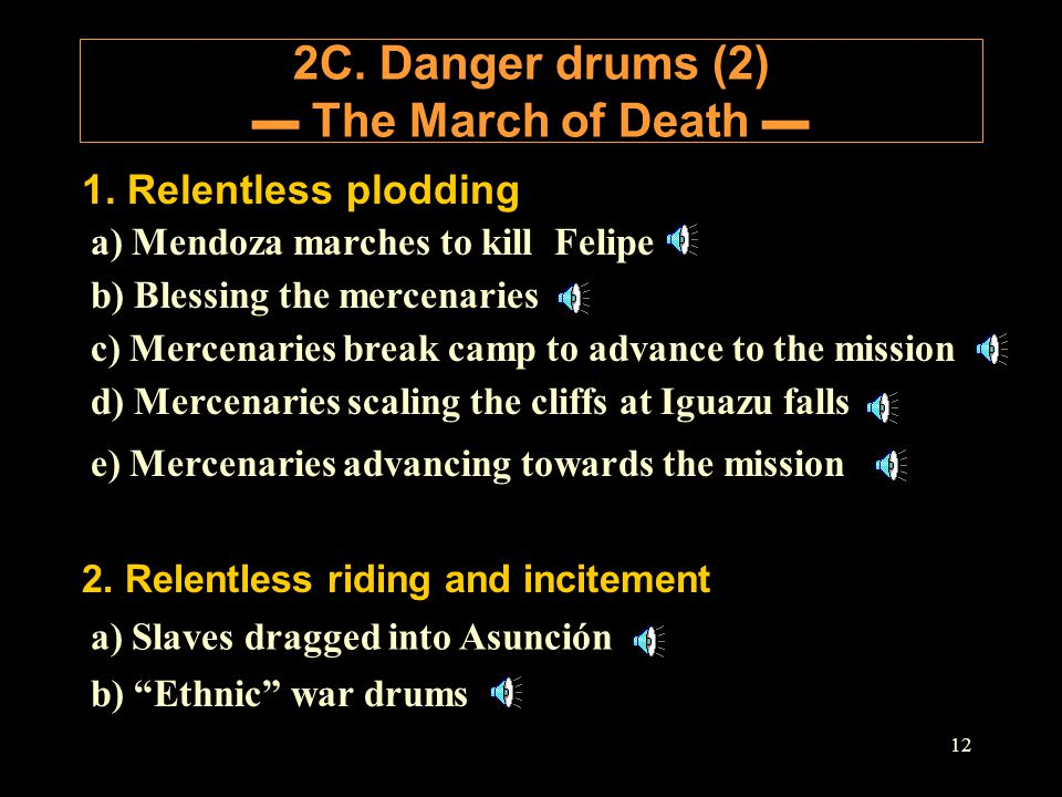 2C. Danger drums (2) ▬ The March of Death ▬