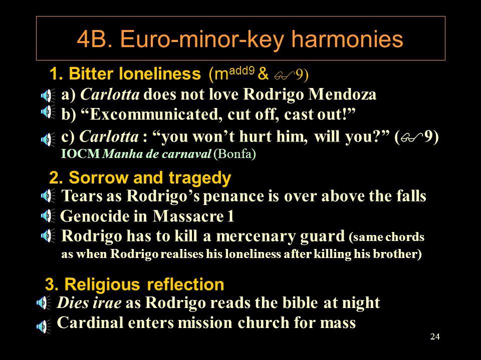 4B. Euro-minor-key harmonies
