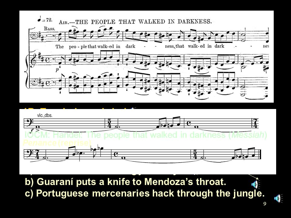 1: Diaboli in musica (b) Penance 1A3b. Visceral outburst