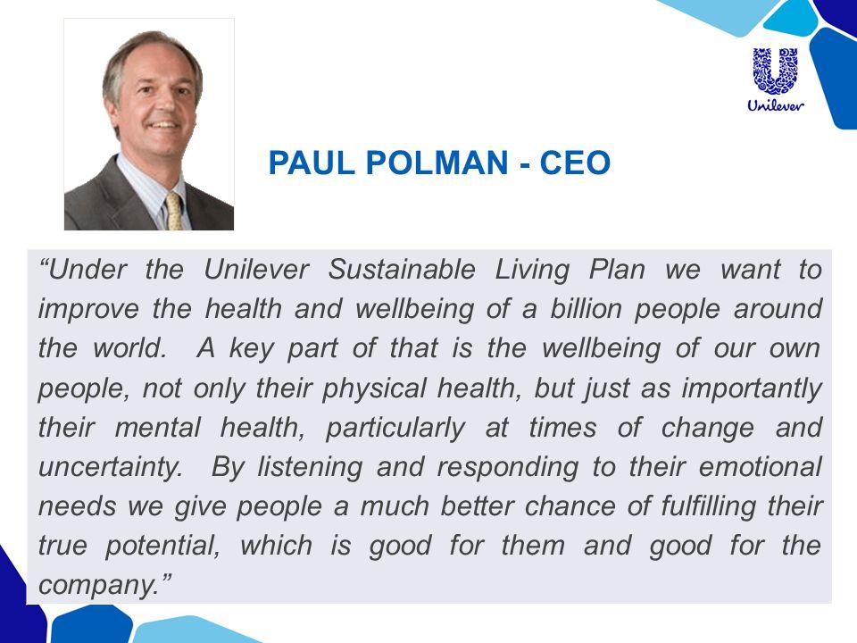 PAUL POLMAN - CEO