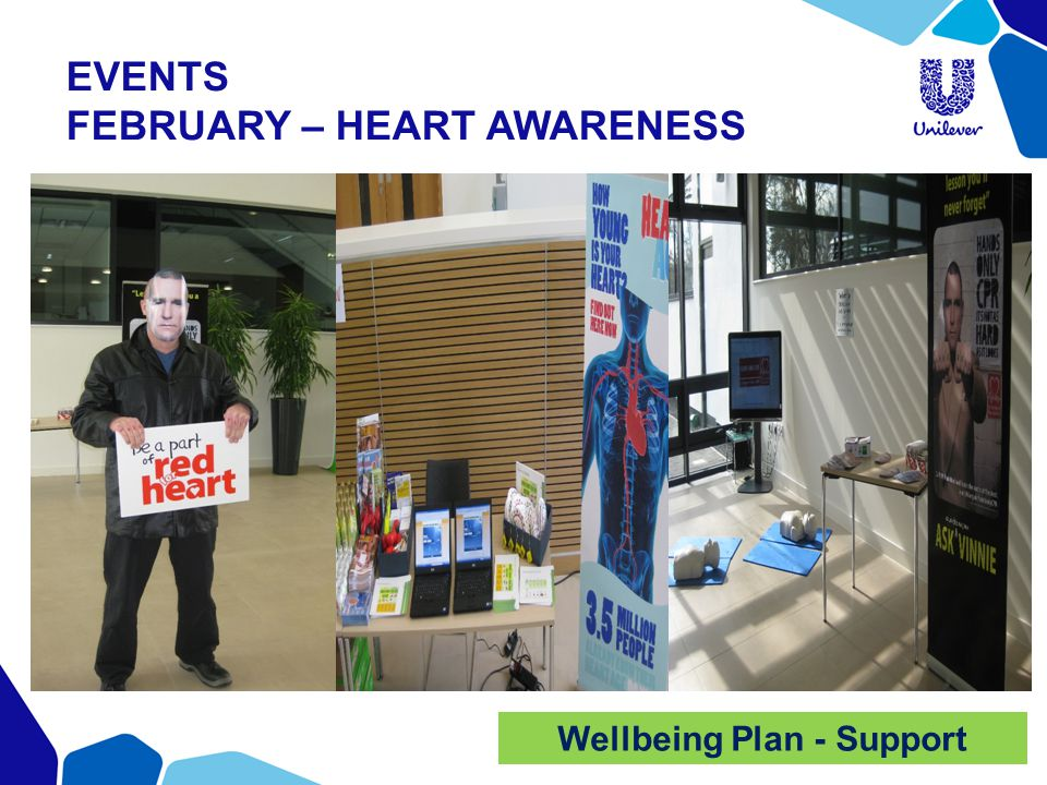 EVENTS FEBRUARY – HEART AWARENESS