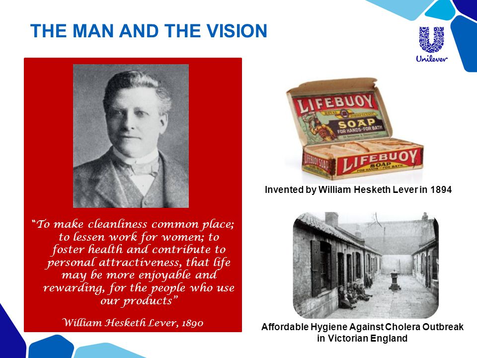 THE MAN AND THE VISION
