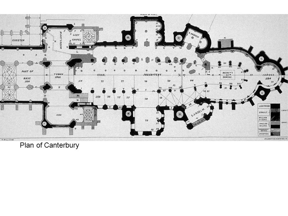 Plan of Canterbury