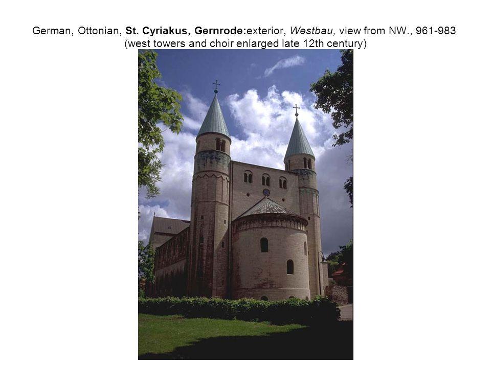 German, Ottonian, St.