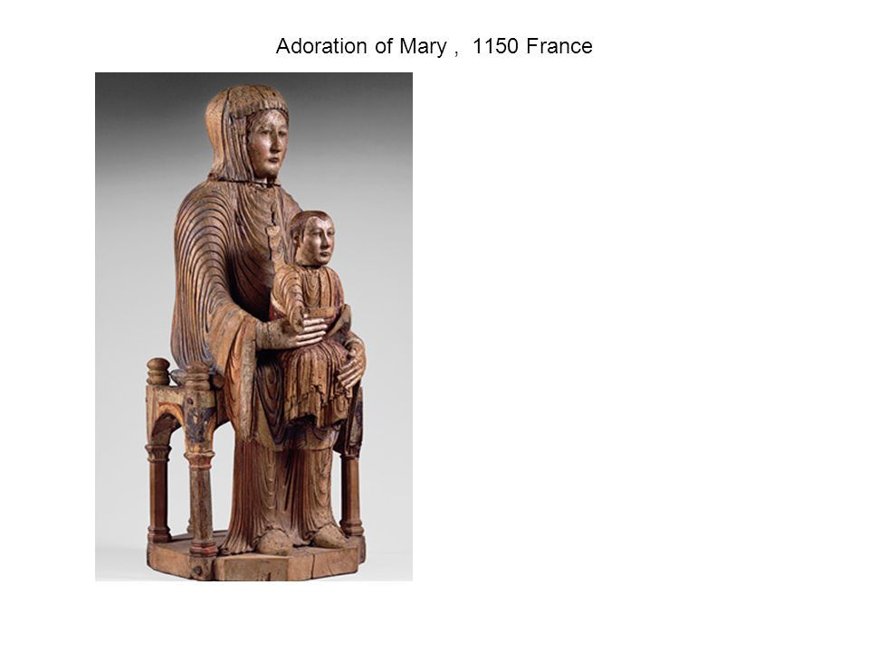 Adoration of Mary , 1150 France