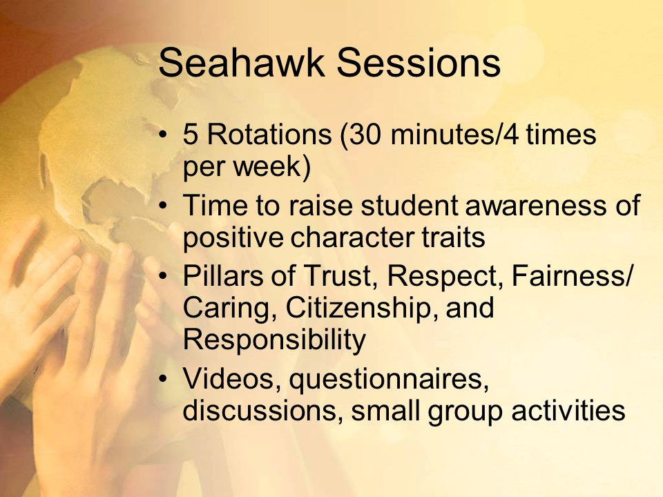 Seahawk Sessions 5 Rotations (30 minutes/4 times per week)