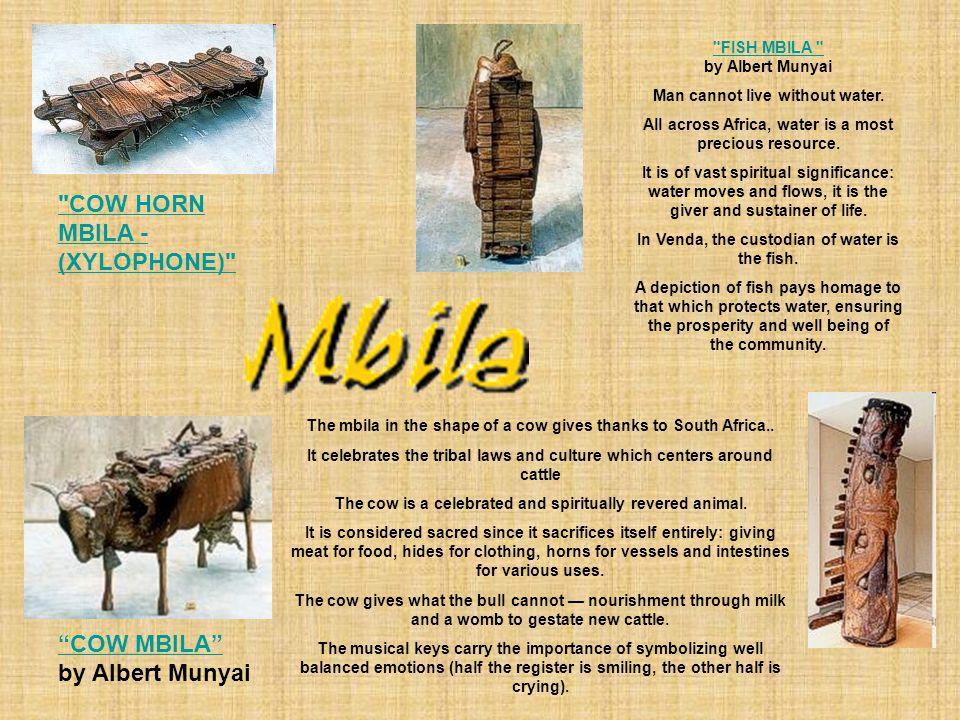 COW HORN MBILA - (XYLOPHONE)