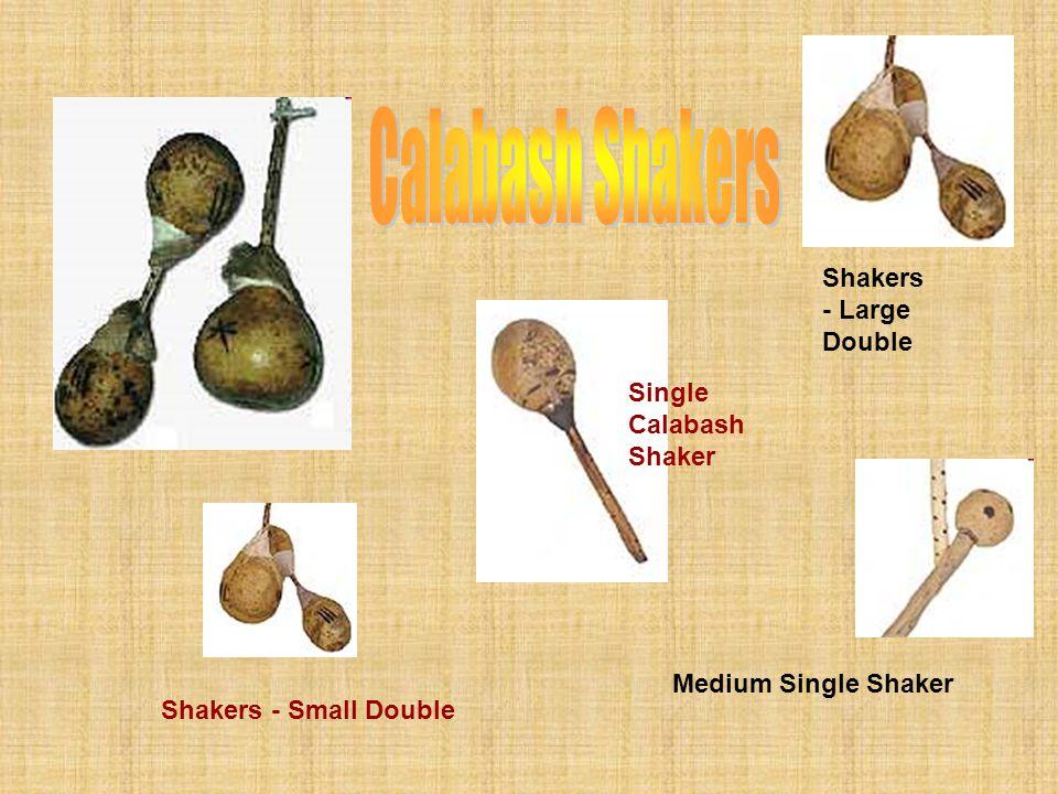 Calabash Shakers Shakers - Large Double Single Calabash Shaker