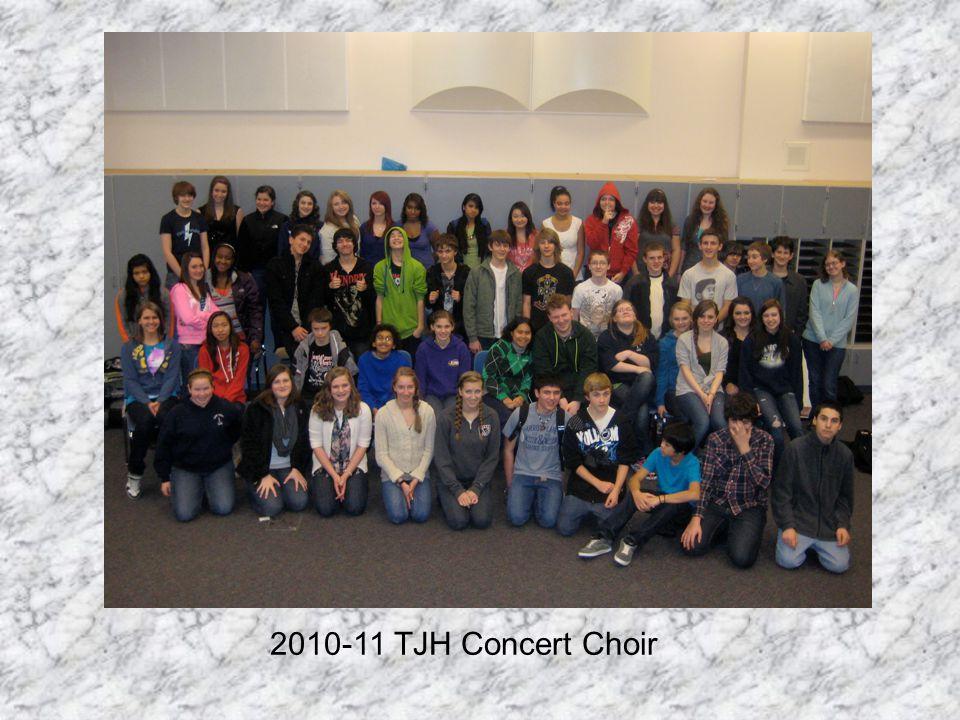 2010-11 TJH Concert Choir