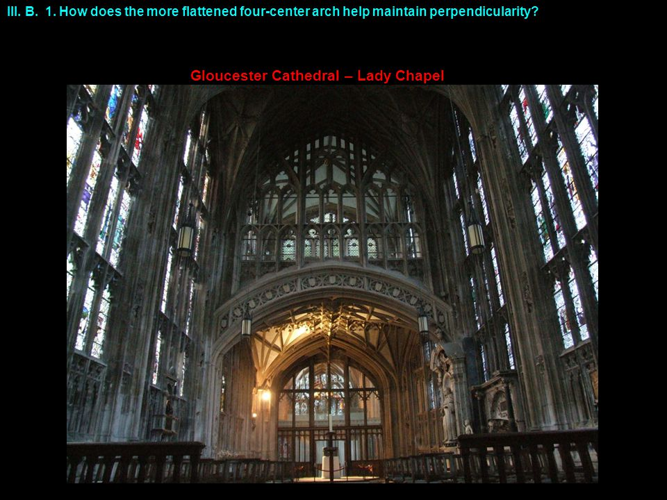 Gloucester Cathedral – Lady Chapel