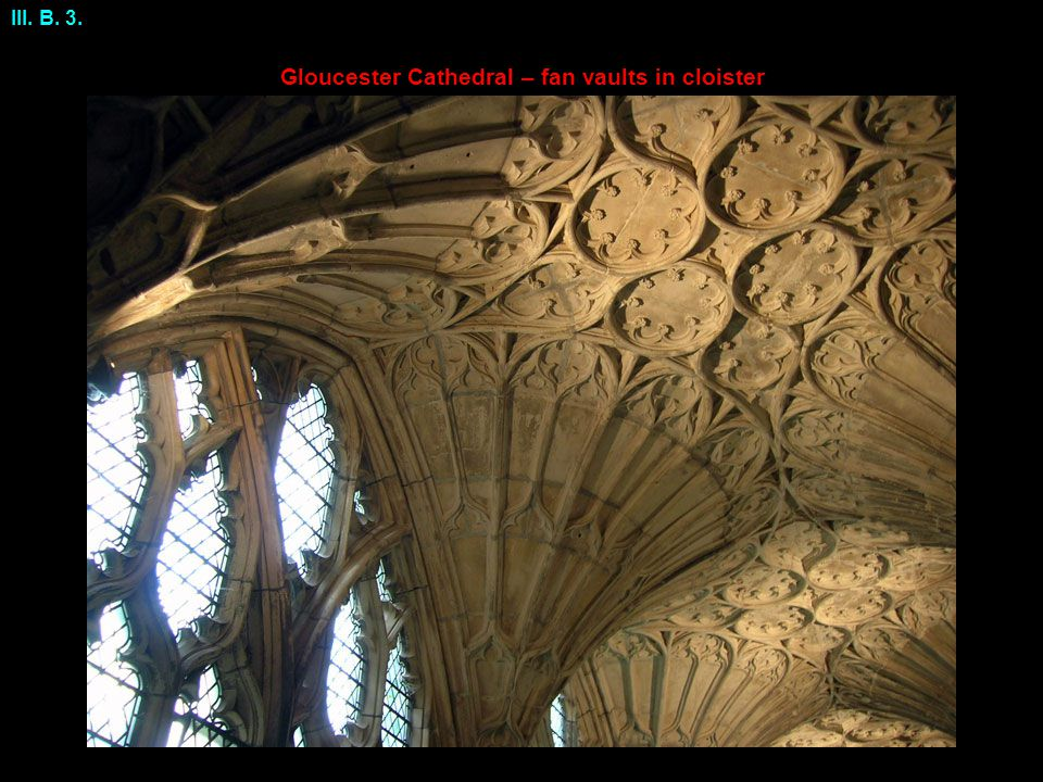Gloucester Cathedral – fan vaults in cloister