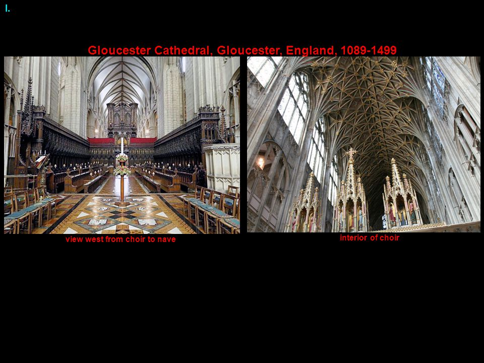 Gloucester Cathedral, Gloucester, England, 1089-1499